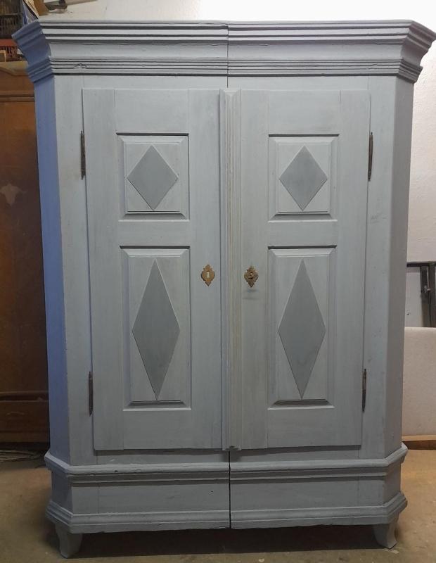 antiker Biedermeier Sekretär, Eiche um 1840