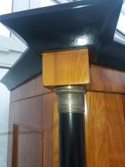 4er Satz Empire / Klassizismus Stühle von 1800
